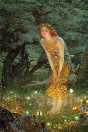 Midsummer's Eve by Edward Robert Hughes