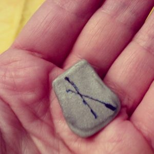 Nauthiz - Intentional Insight's Weekly Rune by S. Kelley Harrell, Soul Intent Arts
