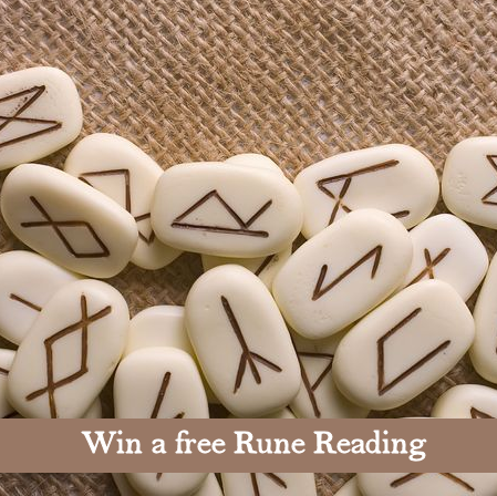 Subscribe to win a free Rune Reading!