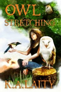 Owl Stretching by K. A. Laity