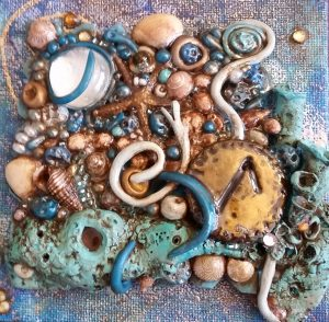 Water at the Bottom of the Ocean - Laguz Rune Art by S. Kelley Harrell on Etsy