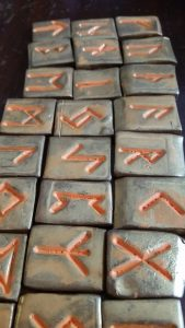 Runes by Tristan, 6 years old, S. Kelley Harrell, Soul Intent Arts