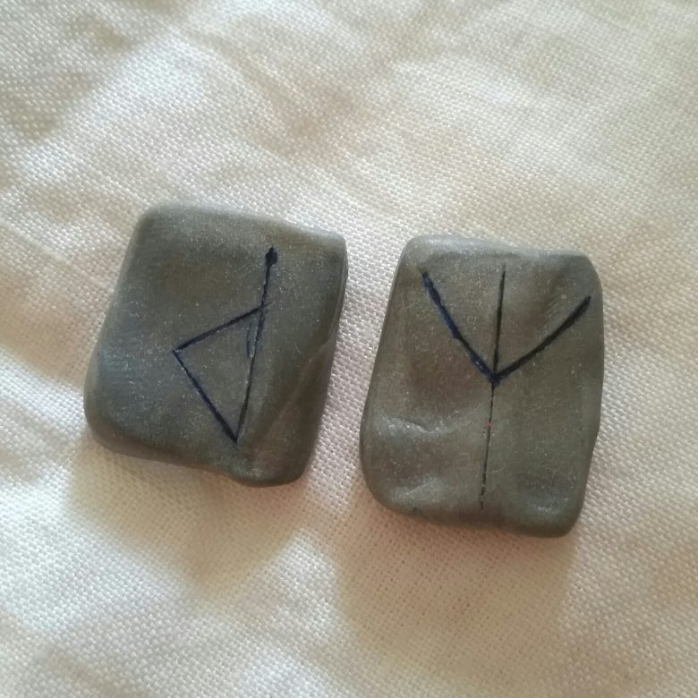 Wunjo reversed - The Weekly Rune on Intentional Insights - by S. Kelley Harrell, Soul Intent Arts