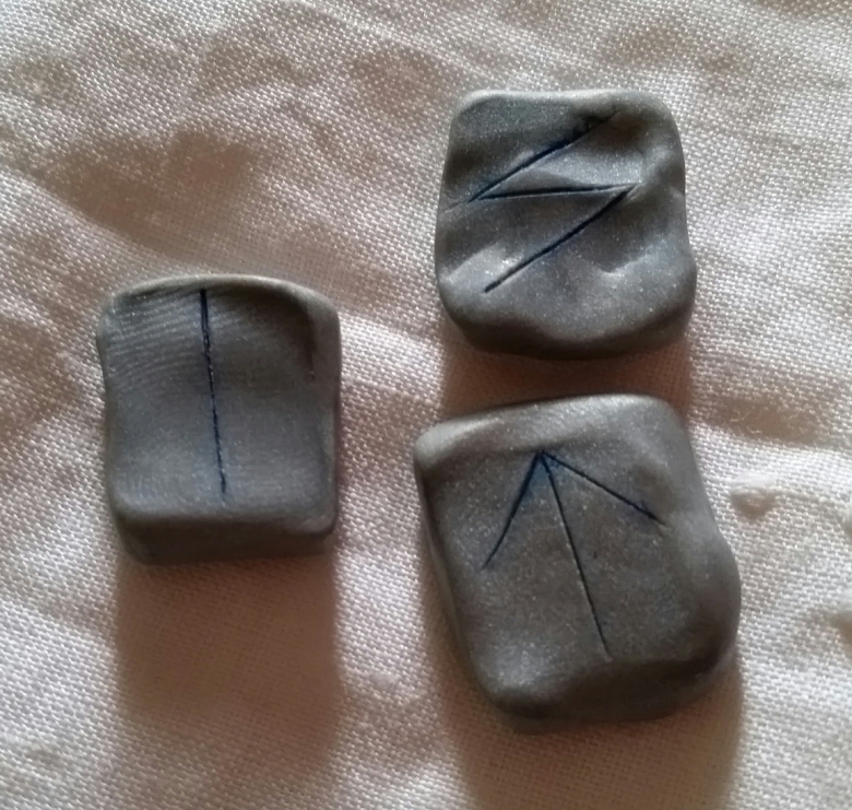 Isa - The Weekly Rune on Intentional Insights - by S. Kelley Harrell, Soul Intent Arts