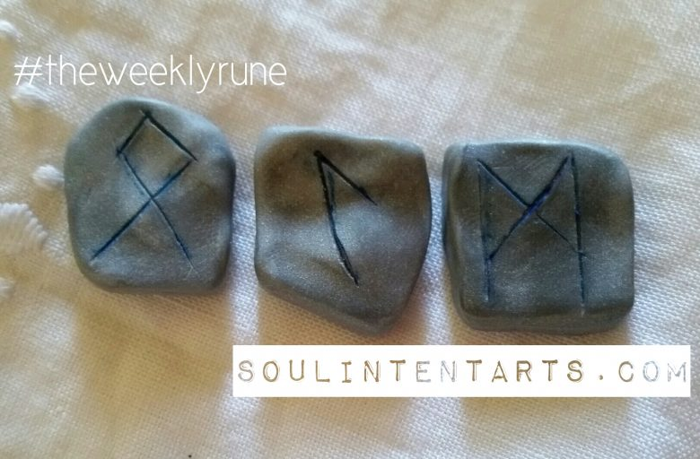 Mannaz - The Weekly Rune - by S. Kelley Harrell, Soul Intent Arts