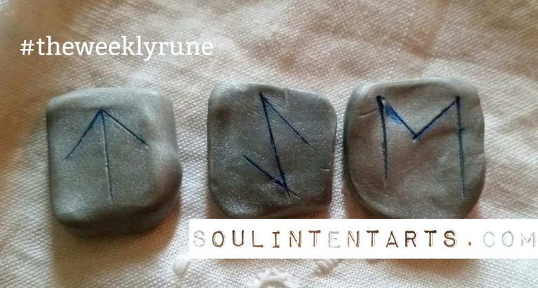 Tiwaz - The Weekly Rune on Intentional Insights - by S. Kelley Harrell, Soul Intent Arts