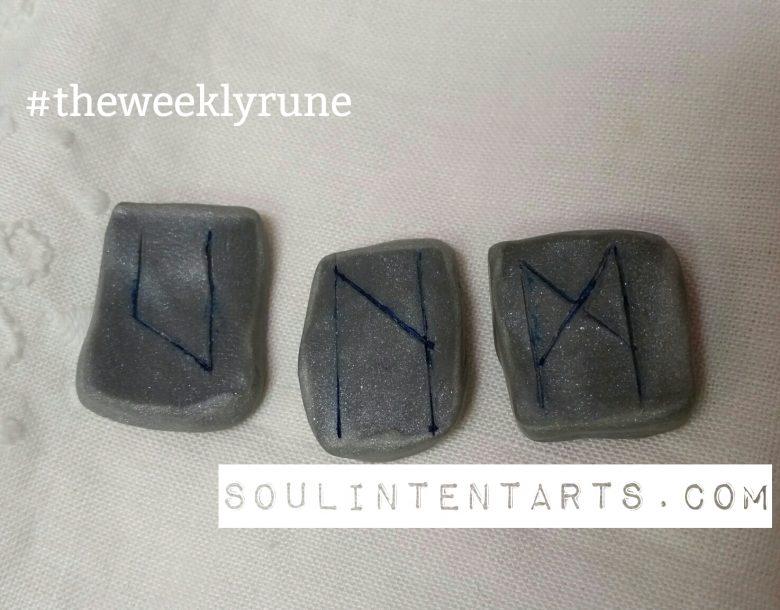 Uruz Reversed - The Weekly Rune - by S. Kelley Harrell, Soul Intent Arts