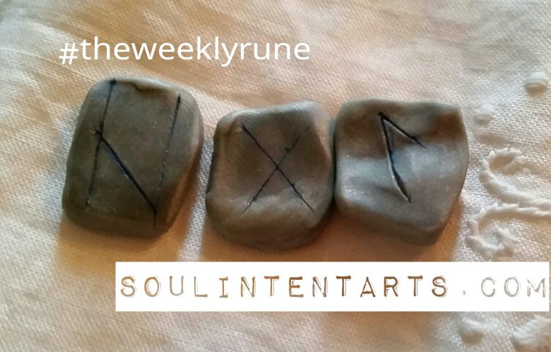 Hagalaz - The Weekly Rune - by S. Kelley Harrell, Soul Intent Arts