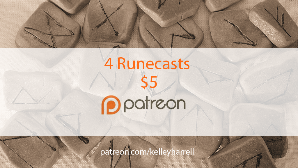 Get 4 monthly runecasts for $5