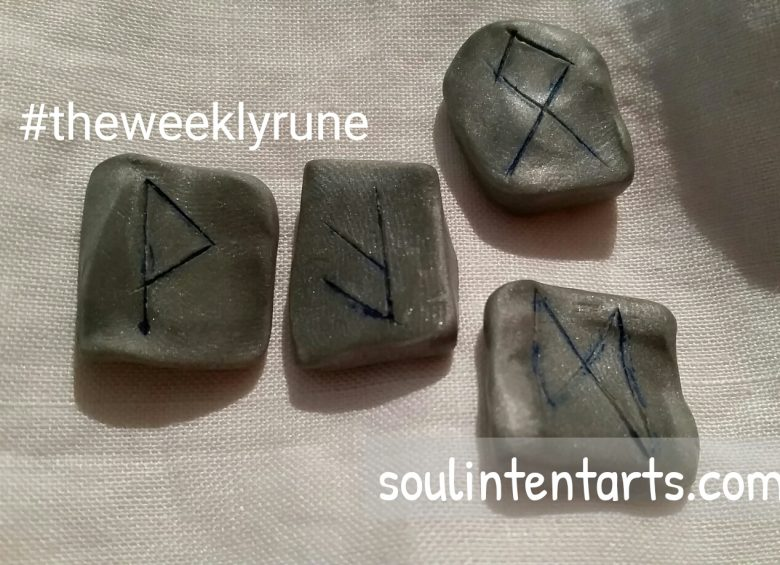 The Weekly Rune on Intentional Insights- by S. Kelley Harrell, Soul Intent Arts