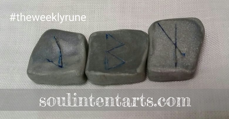 The Weekly Rune on Intentional Insights- by S. Kelley Harrell, Soul Intent Arts #theweeklyrune