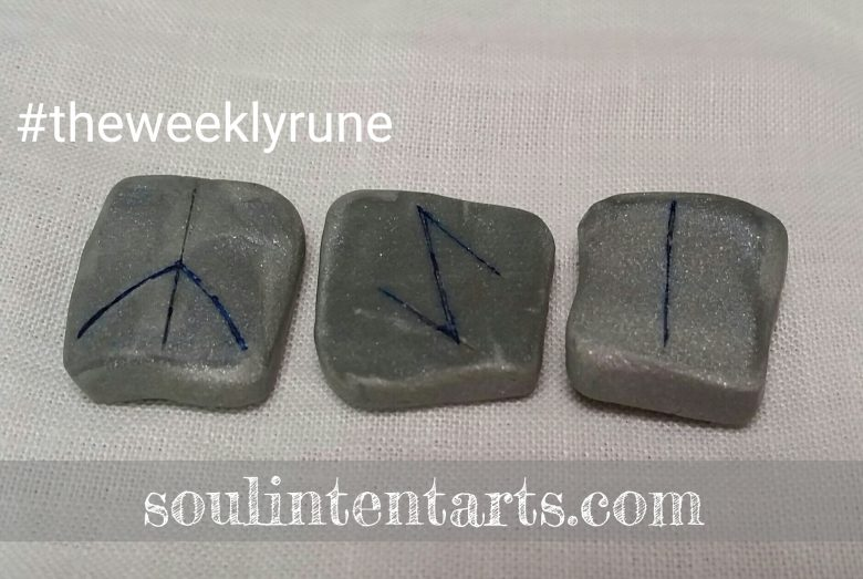 The Weekly Rune for 11 December 2016 on Intentional Insights- by S. Kelley Harrell, Soul Intent Arts #theweeklyrune