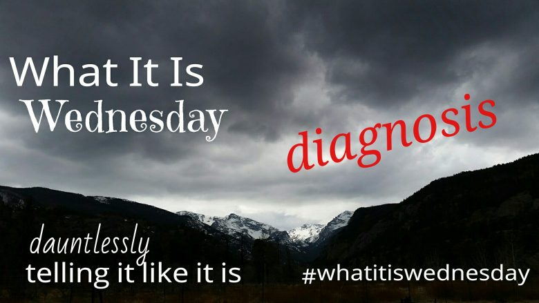 #whatitiswednesday diagnosis by S. Kelley Harrell, Soul Intent Arts, Fuquay, NC Photo by SKH