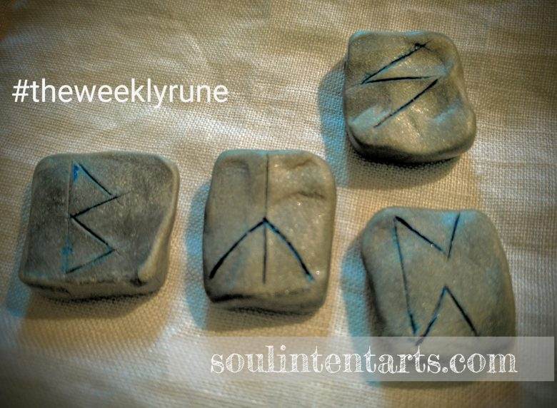 The Weekly Rune for 8 January 2017 on Intentional Insights- by S. Kelley Harrell, Soul Intent Arts #theweeklyrune