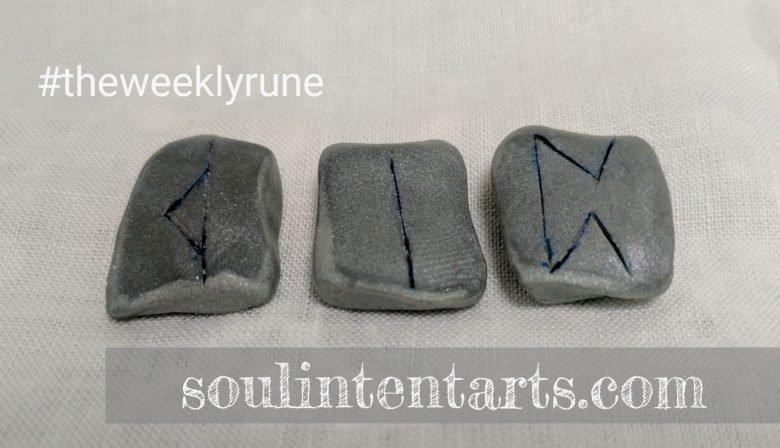 The Weekly Rune for 15 January 2017 on Intentional Insights- by S. Kelley Harrell, Soul Intent Arts #theweeklyrune