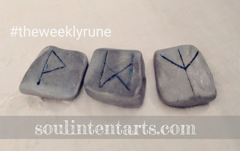 The Weekly Rune for 5 February 2017 on Intentional Insights- by S. Kelley Harrell, Soul Intent Arts #theweeklyrune