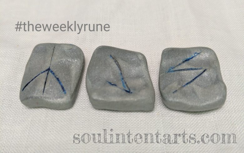 The Weekly Rune for 12 February 2017 on Intentional Insights- by S. Kelley Harrell, Soul Intent Arts #theweeklyrune