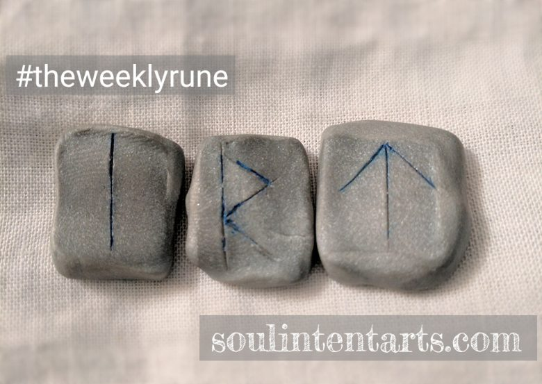 The Weekly Rune for 5 March 2017 on Intentional Insights- by S. Kelley Harrell, Soul Intent Arts #theweeklyrune