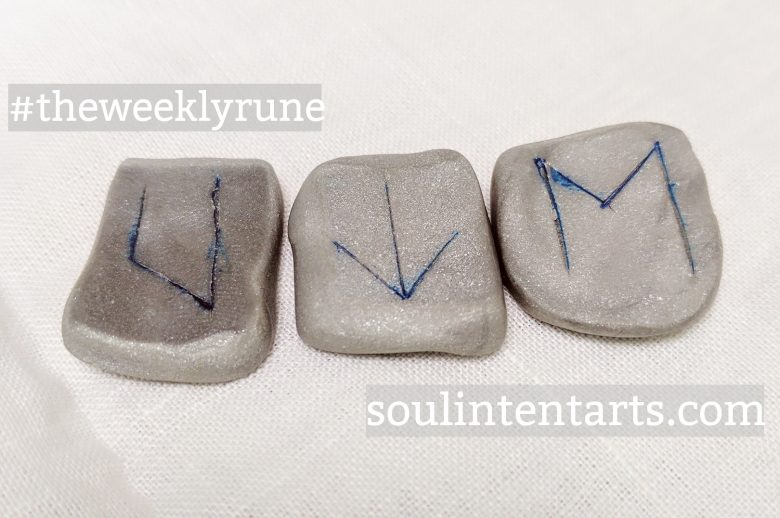 The Weekly Rune for 2 April 2017 on Intentional Insights- by S. Kelley Harrell, Soul Intent Arts #theweeklyrune