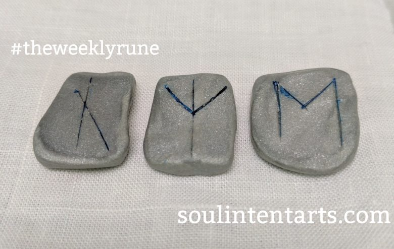 The Weekly Rune for 9 April 2017 on Intentional Insights- by S. Kelley Harrell, Soul Intent Arts #theweeklyrune