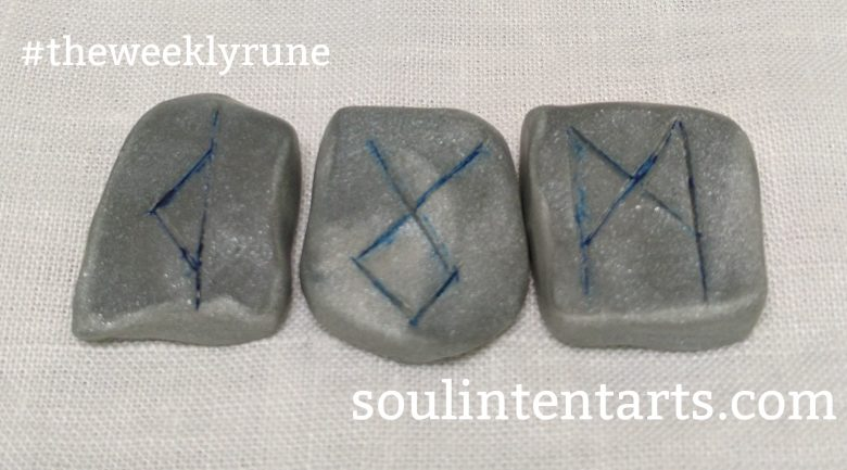 The Weekly Rune for 16 April 2017 on Intentional Insights- by S. Kelley Harrell, Soul Intent Arts #theweeklyrune