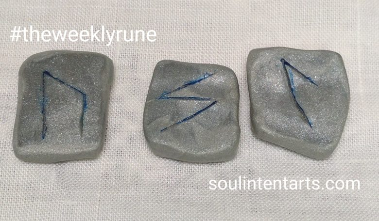 The Weekly Rune for 30 April 2017 on Intentional Insights- by S. Kelley Harrell, Soul Intent Arts #theweeklyrune