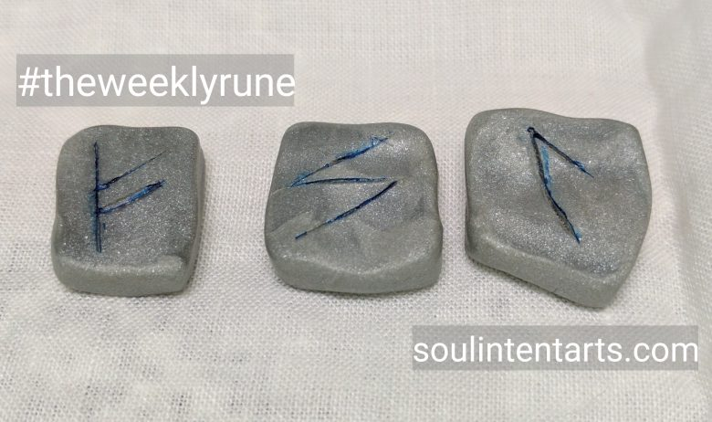 The Weekly Rune for 7 Mayl 2017 on Intentional Insights- by S. Kelley Harrell, Soul Intent Arts #theweeklyrune