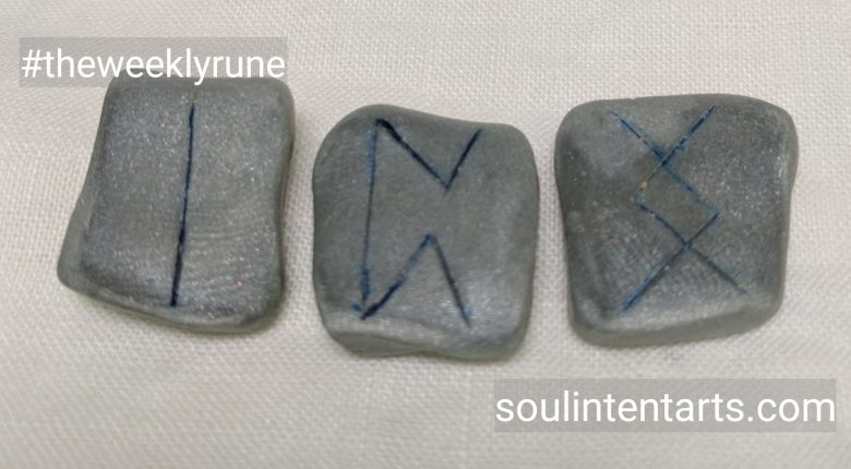 The Weekly Rune for 14 May 2017 on Intentional Insights- by S. Kelley Harrell, Soul Intent Arts #theweeklyrune