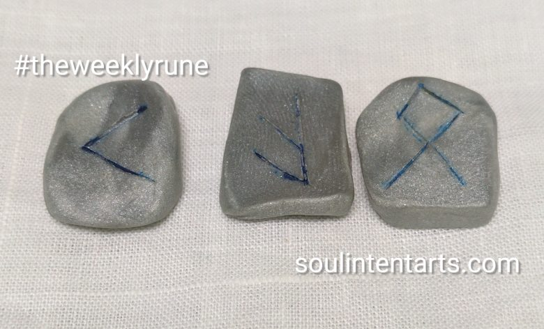 The Weekly Rune, cast for 28 May 2017 on Intentional Insights- by S. Kelley Harrell, Soul Intent Arts #theweeklyrune