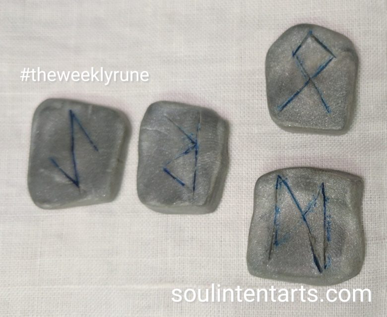 The Weekly Rune, cast for 11 June 2017 on Intentional Insights- by S. Kelley Harrell, Soul Intent Arts #theweeklyrune