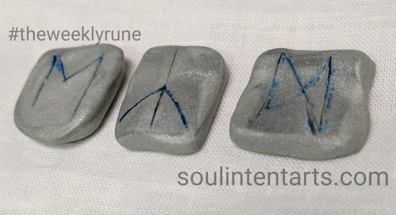 The Weekly Rune, cast for 18 June 2017 on Intentional Insights- by S. Kelley Harrell, Soul Intent Arts #theweeklyrune