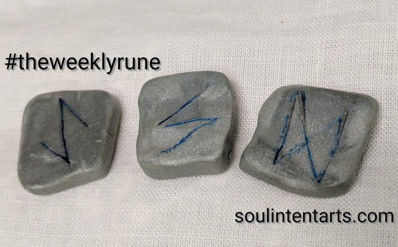 The Weekly Rune, cast for 26 June 2017 on Intentional Insights- by S. Kelley Harrell, Soul Intent Arts #theweeklyrune