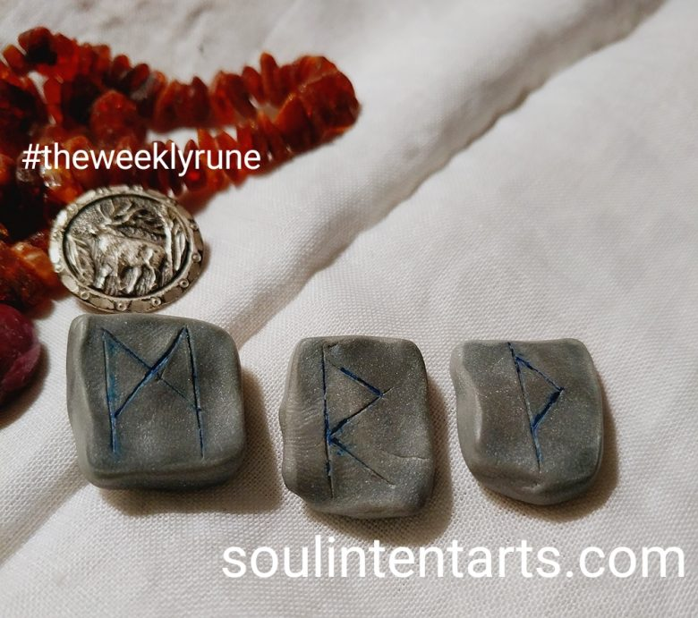 The Weekly Rune, cast for 30 July 2017 on Intentional Insights- by S. Kelley Harrell, Soul Intent Arts #theweeklyrune