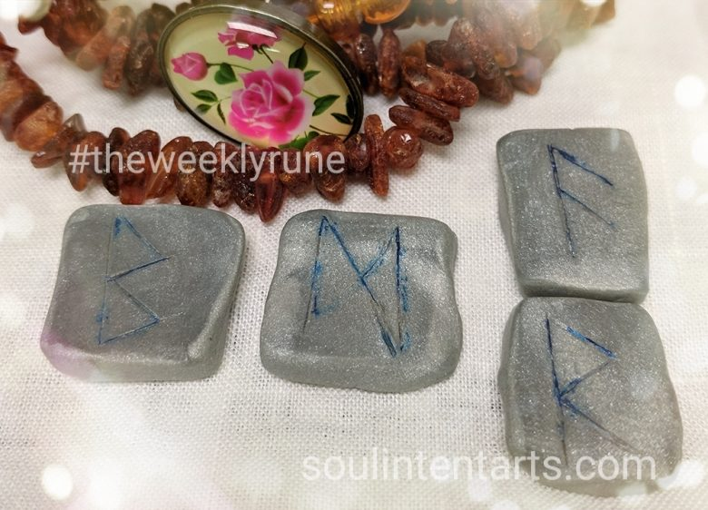 The Weekly Rune, cast for 27 August 2017 on Intentional Insights- by S. Kelley Harrell, Soul Intent Arts #theweeklyrune
