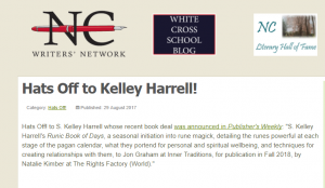 Runic Book of Days announced - NCWN - Publishers Weekly, S. Kelley Harrell, Soul Intent Arts