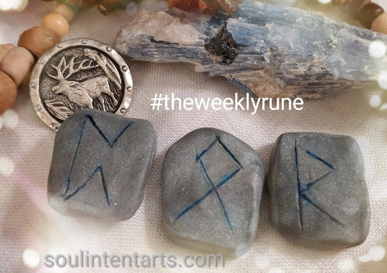 The Weekly Rune, cast for 3 September 2017 on Intentional Insights- by S. Kelley Harrell, Soul Intent Arts #theweeklyrune