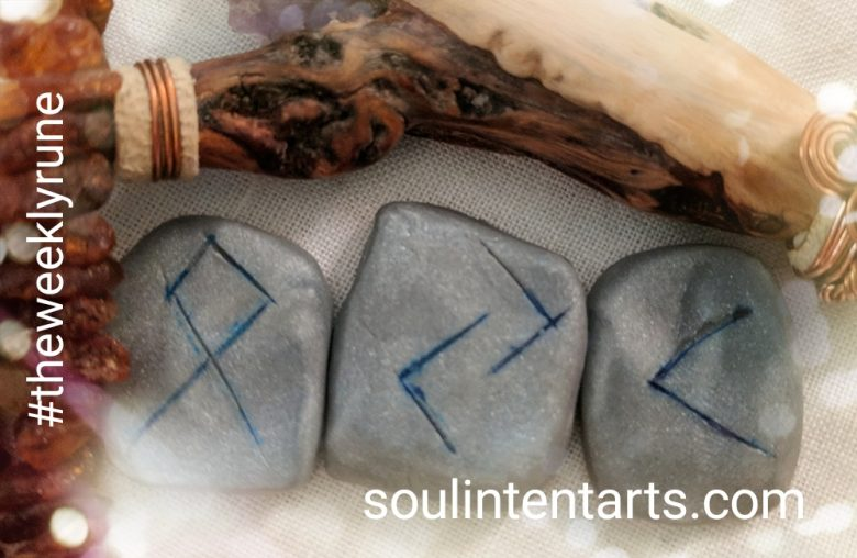 The Weekly Rune, cast for 17 September 2017 on Intentional Insights- by S. Kelley Harrell, Soul Intent Arts #theweeklyrune