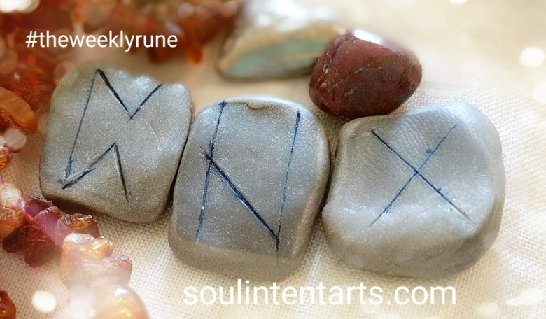 The Weekly Rune, cast for 2 October 2017 on Intentional Insights- by S. Kelley Harrell, Soul Intent Arts #theweeklyrune