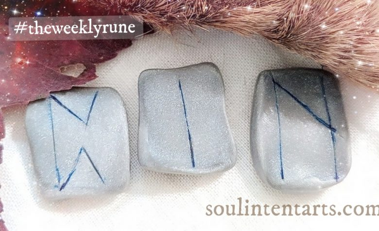 The Weekly Rune, cast for 29 October 2017 on Intentional Insights- by S. Kelley Harrell, Soul Intent Arts #theweeklyrune