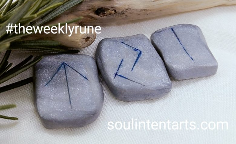 The Weekly Rune, cast for 26 November 2017 on Intentional Insights- by S. Kelley Harrell, Soul Intent Arts #theweeklyrune