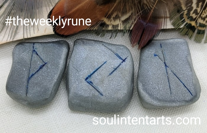 The Weekly Rune, cast for 19 November 2017 on Intentional Insights- by S. Kelley Harrell, Soul Intent Arts #theweeklyrune