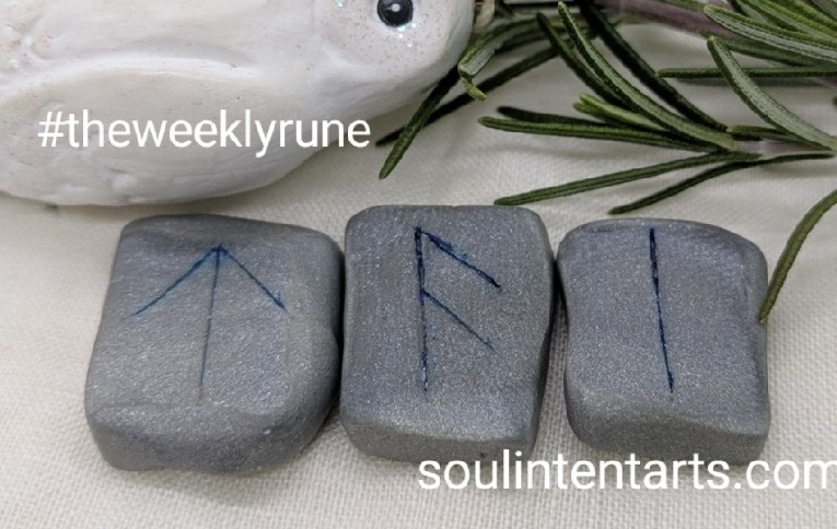 The Weekly Rune, cast for 3 December 2017 on Intentional Insights- by S. Kelley Harrell, Soul Intent Arts #theweeklyrune