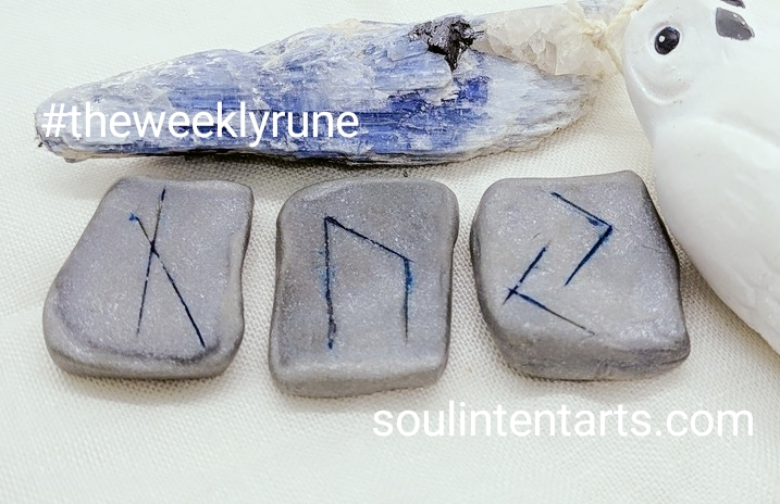 The Weekly Rune, cast for 10 December 2017 on Intentional Insights- by S. Kelley Harrell, Soul Intent Arts #theweeklyrune