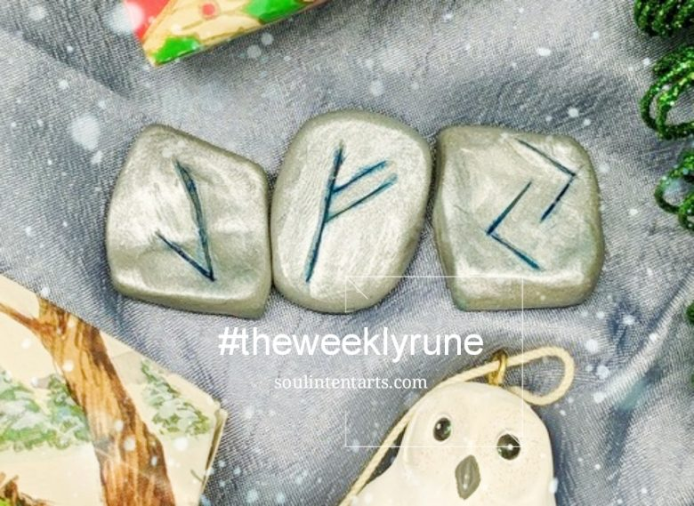 The Weekly Rune, cast for 17 December 2017 on Intentional Insights- by S. Kelley Harrell, Soul Intent Arts #theweeklyrune