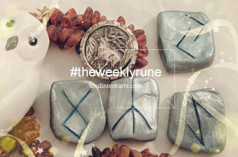 The Weekly Rune, cast for 24 December 2017 on Intentional Insights- by S. Kelley Harrell, Soul Intent Arts #theweeklyrune