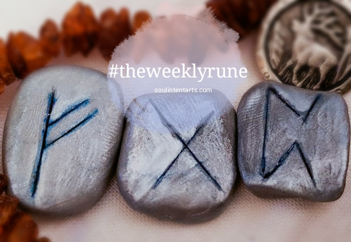 The Weekly Rune, cast for 14 January 2018 on Intentional Insights- by S. Kelley Harrell, Soul Intent Arts #theweeklyrune