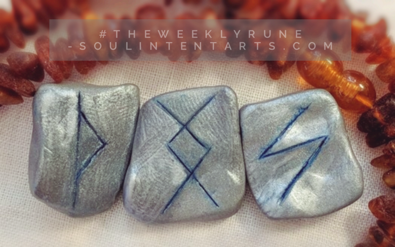 The Weekly Rune, cast for 11 February 2018 on Intentional Insights- by S. Kelley Harrell, Soul Intent Arts #theweeklyrune