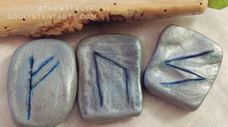 The Weekly Rune, cast for 18 February 2018 on Intentional Insights- by S. Kelley Harrell, Soul Intent Arts #theweeklyrune