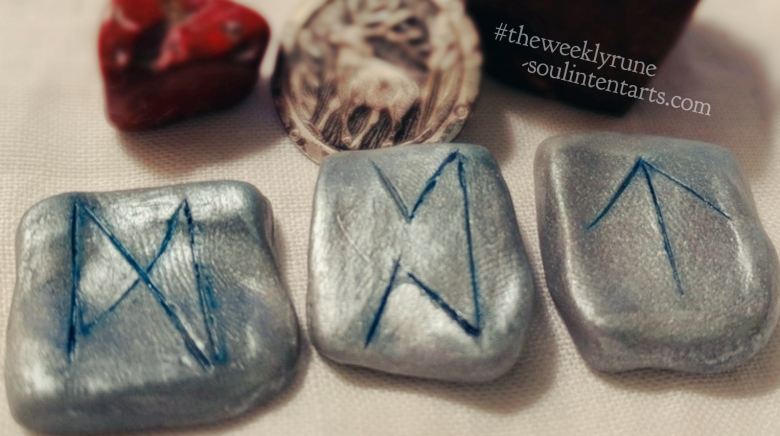 The Weekly Rune, cast for 25 February 2018 on Intentional Insights- by S. Kelley Harrell, Soul Intent Arts #theweeklyrune
