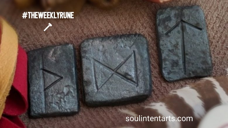The Weekly Rune, cast for 4 March 2018 on Intentional Insights- by S. Kelley Harrell, Soul Intent Arts #theweeklyrune
